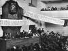21. В.И.Ленин произносит речь на I Всероссийском съезде по просвещению в зале Педагогического института. Москва, 28 августа 1918 года