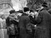 41. В.И.Ленин на Красной площади в день празднования 1-й годовщины Великой Октябрьской социалистической революции. Москва, 7 ноября 1918 года