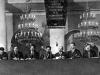 42. В.И.Ленин и Я.М.Свердлов в президиуме I Всероссийского съезда Земотделов и Комбедов в колонном зале Дома Союзов. Москва, 11 декабря 1918 года