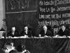 44. В.И.Ленин в президиуме I конгресса Коминтерна в Кремле. Слева направо: Г.Клингер, Г.Эберлейн, В.И.Ленин и Ф.Платтен. Москва, 2-6 марта 1919 года